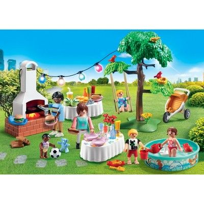 Playmobil Housewarming Party Multi Colored Hauseinweihungsparty Einweihungsparty Playmobil