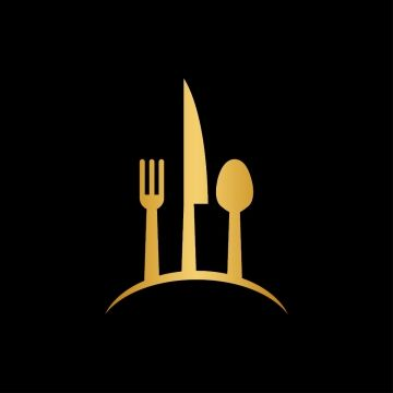 Luxury Gold Spoon Restaurant Logo Design Food Logo Design Gold Logo Design
