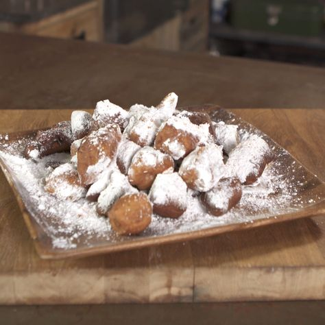 Marcus shows you how to make these heated and sweet Beignets.