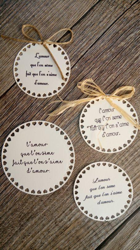 Etiquettes Citation Poème Mariage Pour Sachets De Graines à