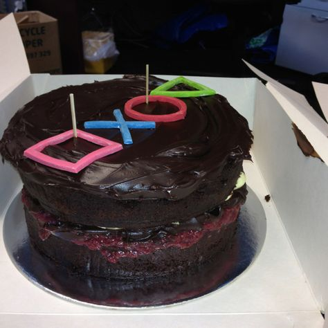 Thank u cake from playstation