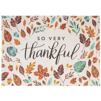 So Very Thankful Placemats Thanksgiving Placemats Placemats Fall Thanksgiving
