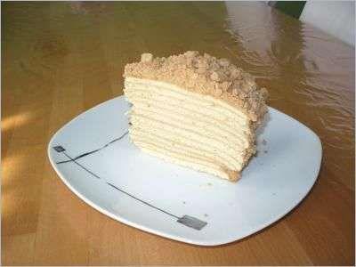 Napoleon Kuchen Rezept Backen Pinterest Kuchen Rezepte Russisches Geback Kuchen