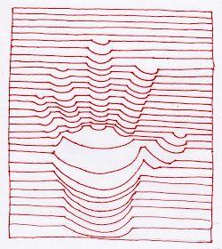 De Dibujo Artistico Y Color Generacion De Volumen Mediante El Uso Exclusivo De La Linea Linea De Contorno Dibujo Con Lineas Papel De Dibujo