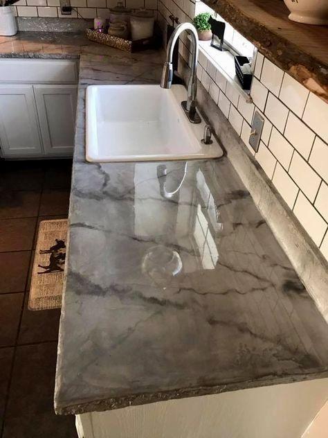 Countertop Refinishing Kit In 2019 Kitchen Remodeling Ideas