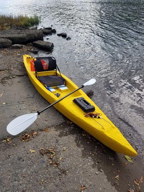 Sawfish The Unsinkable Lightweight Foam Kayak Free Diy Kayak Plans Anyone Can Build Kayaking Boat Small Boats
