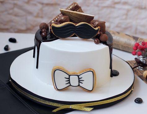 Мужские торты без мастики фото