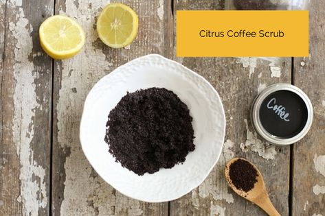 Citrus Coffee Scrub