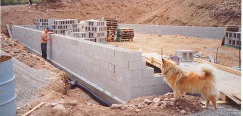 Dry Stack Block Surface Bonded Concrete Block Walls Used For Htms Concrete Block Walls Concrete Blocks Cinder Block Walls