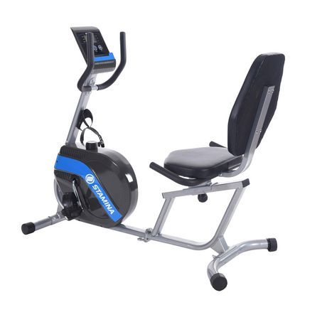 Stamina Products Stamina Recumbent Exercise Bike 345 In 2020 Recumbent Bike Workout Biking Workout Exercise Bikes