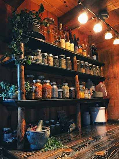 DIY Home Apothecary - DIY - Heirloom Gardener DIY Home Apothecary - DIY - Heirloom Gardener DIY Home Apothecary - DIY - Heirloom Gardener<br> Build a custom home apothecary on a budget over time. Apothecary Decor, Apothecary Cabinet, Witch Room, Kitchen Witch, Healing Herbs, My Dream Home, Home Remedies, Custom Homes, My House