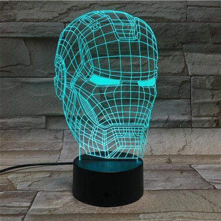 19 98 Find Out More About The Great Product At The Image Link This Is An Affiliate Link Bedroomlam Led Night Lamp Color Changing Lamp 3d Illusion Lamp