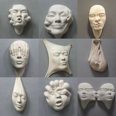 My theme today is and my first choice is Johnson Tsang who mostly employs realist sculptural techniques accompanied by…