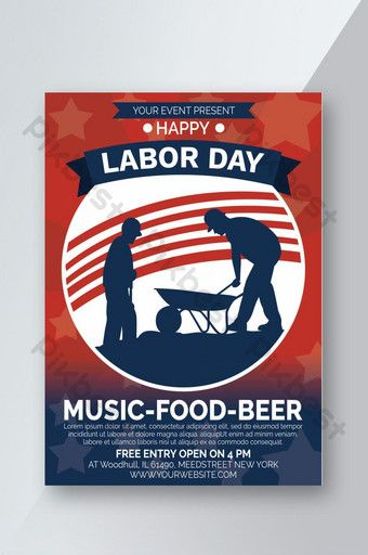 Pin On Labor Day Posters