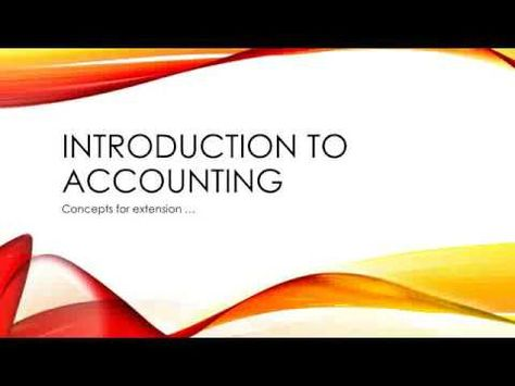 8.4.  Accounting concepts (lesson 6)