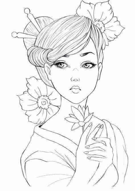 Get Everything You Need Starting At 5 Fiverr In 2021 People Coloring Pages Coloring Pages Coloring Pages For Girls