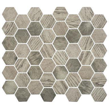 Mozaika Hex Graphik 32 3 X 35 85 Artens Mozaiki W Atrakcyjnej Cenie W Sklepach Leroy Merlin