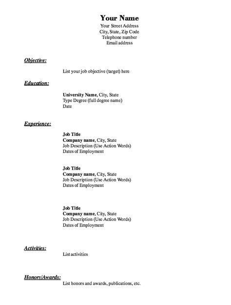 Sample of Elegance Resume Design Template -    resumesdesign - building a resume