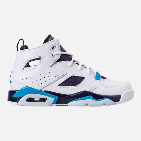 58e71e689328 Right view of Boys  Big Kids  Air Jordan Flight Club  91 Basketball Shoes