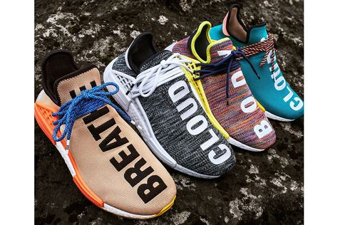 the latest 0ee57 ac750 Pharrell Williams adidas Originals Statement Hiking Hu NMD Trail Footwear  Outerwear Apparel Fashion Clothing Hiking Outdoors Nature