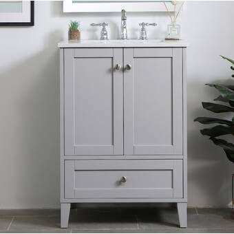 Ekanta 24 Single Bathroom Vanity Set Single Bathroom Vanity 24 Inch Bathroom Vanity Bathroom Vanity