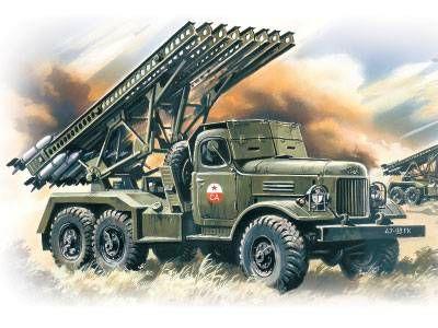 Katyusha Rocket Launcher, built by the Soviet Union,was a