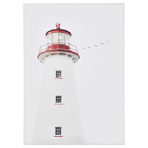 Pjatteryd Picture Lighthouse Ikea Ikea Canvas At Home Furniture Store Ikea