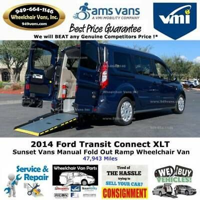 Details About 2014 Ford Transit Connect Xlt 4dr Lwb Mini Van W Rear Cargo Doors In 2020