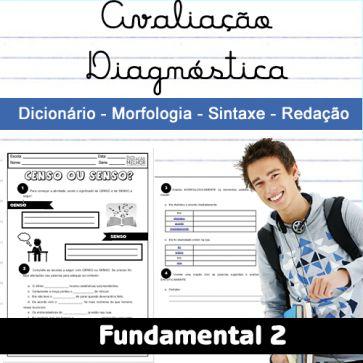 Avaliacao Diagnostica Fundamental 2 Lingua Portuguesa