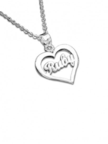 سلسله فضة عيار 925 سلسلة فضة ايطالى بتعليقة باسمك Silver Necklace Jewelry Silver