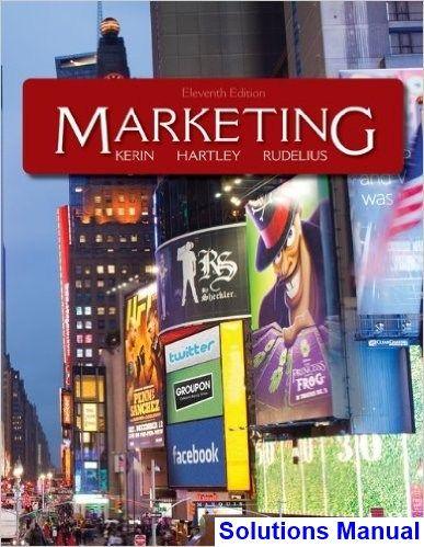Marketing 11th Edition Kerin Solutions Manual Digital Deal Promotion 2021