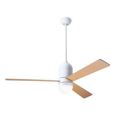 Modern Fan Company 50 Cirrus 3 Blade Led Ceiling Fan Light Kit