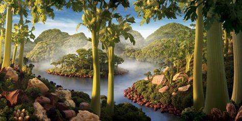 'Celery Island': Look close.