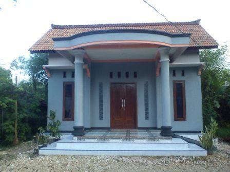 Desain Teras Rumah Kampung Sederhana