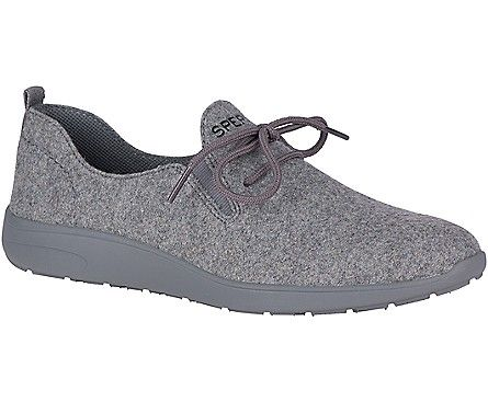 Rio Aqua Wool Sneaker, Grey   Wool
