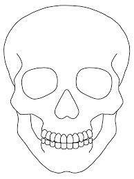 Image Result For Skull Outline Desenho Caveira Caveira Mexicana