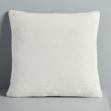 Textured Border Pillow Covers | Pillows
