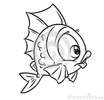 100 Funny Fishes Ideas In 2020 Fish Art Fish Cartoon Fish