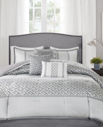 Madison Park Bennett 7 Pc California King Comforter Set Reviews