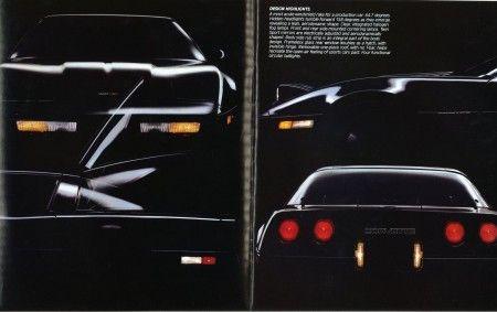 Rebirth Of A Legend 1984 Chevrolet Corvette Brochure Corvette Chevrolet Corvette Corvette History