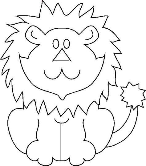 Lion 40 Animaux Coloriages A Imprimer Coloriage Coloriage