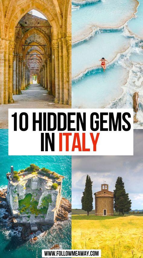 10 Hidden Gems in Italy
