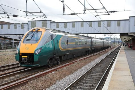 Railway Herald Imaging Centre 222102 At Peterborough Uk Rail Train British Rail
