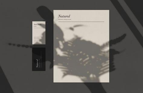 Medialoot - Natural Stationery Mockup Scenes