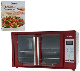 Oster Xl Digital Convection Oven W French Doors Recipe Book