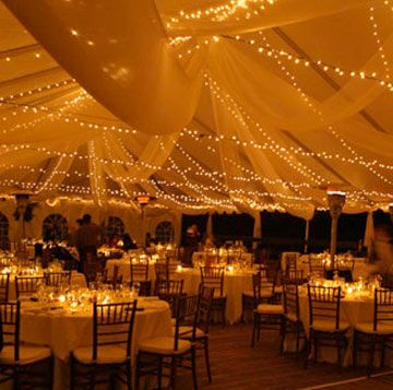 I really want an outsidetent wedding So pretty If we have