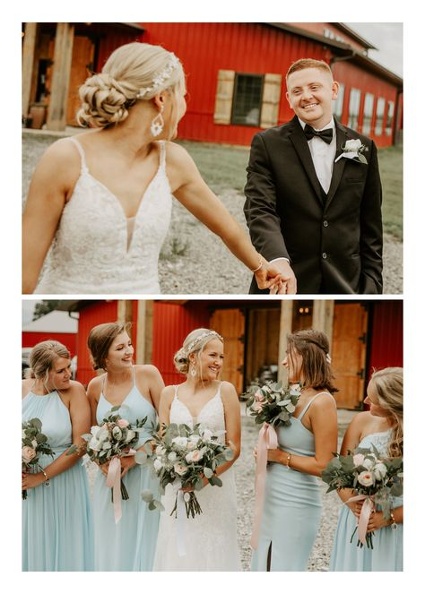 Talk about the perfect August temps, the sweetest and most calm bride, the prettiest little details, and the most adorable flower girl + ring bearer entrance I've ever witnessed (SO sweet!). #MissouriWedding #SummerWedding #WeddingDetails #WeddingPortraits #WeddingParty #WeddingMakeup #WeddingHairstyles #BridesmaidDresses #WeddingFlowers #WeddingDetails #BrideandGroom #WeddingIdeas #WeddingInspiration