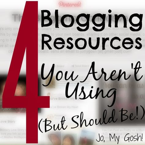 4 Recursos gratuitos de #Blogging que não está a utilizar (mas devia!)