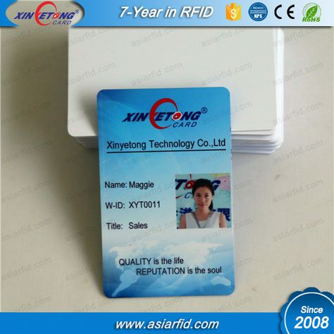 Factory Price Plastic Blank Epson Printable Inkjet Pvc Card With Hight Quality Inkjet Cards Printing Double Sided