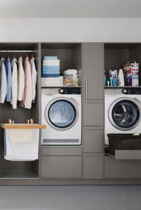 Hauswirtschaftsraum Mobel Ideen Zum Einrichten In 2020 Hauswirtschaftsraum Hauswirtschaftsraum Ideen Waschkuchendesign